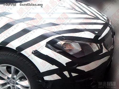 改款骏捷FRV谍照曝光 全新家族前脸设计 东莞新车发售 东莞新车发布 高清图片